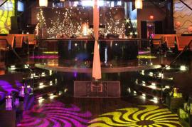 Vegas-style-LA-Club VIP Lounge Upstairs