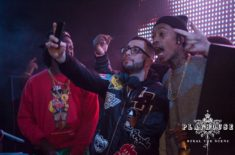 Playhouse-Nightclub-Reveler-Wiz-Khalifa-235x155 Ty Dolla Sign Performs Playhouse Hollywood