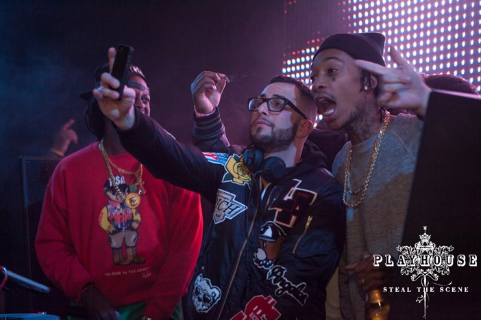 Playhouse Nightclub Reveler Wiz Khalifa Partying