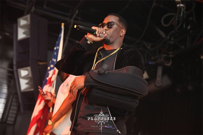 Puff Daddy Playhouse Hollywood Celebrity Performance