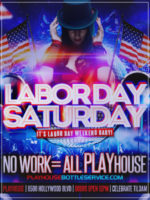 Play House Night Club Labor Day Saturday