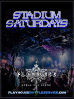 Playhouse Hollywood Stadium Saturdays Party Spot