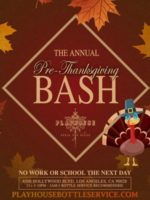 Playhouse Nightclub | Pre-Thanksgiving Party